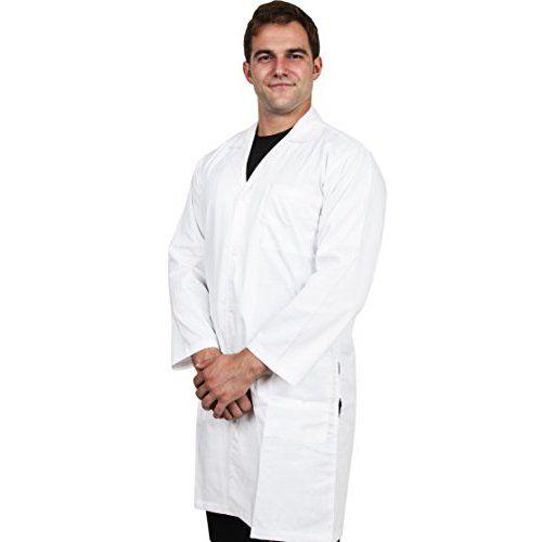 3M Disposable Lab Coat 4440, Polypropylene, Medium, White