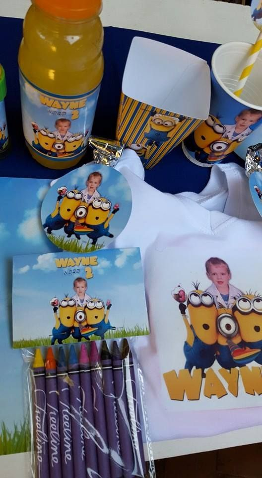 Our custom made party supplies include personalised pvc banners, party packs, movie boxes and more.