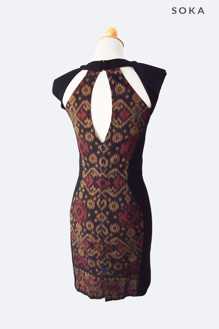 Tribal Pattern Combination Dress - Online shop for women's clothing, find the hottest women's fashion items