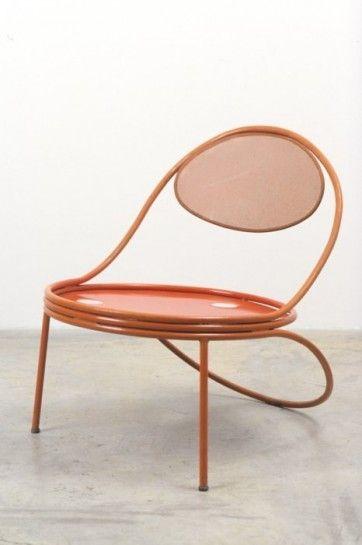Mathieu Matégot, fauteuil Copacabana 1955