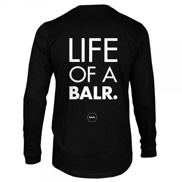 Long Sleeved Shirt 'Life of a BALR.' - BALR.