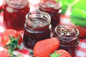 Chia jam or jelly