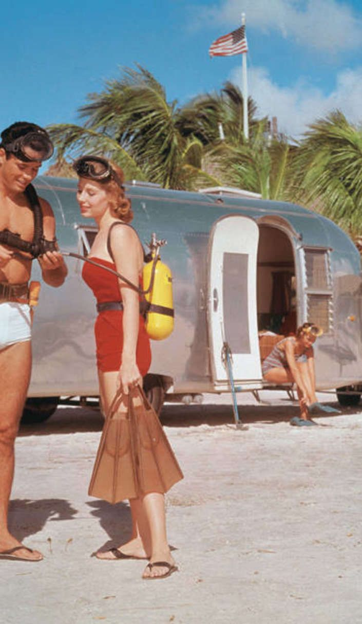 Fall in love with these vintage Airstream ads