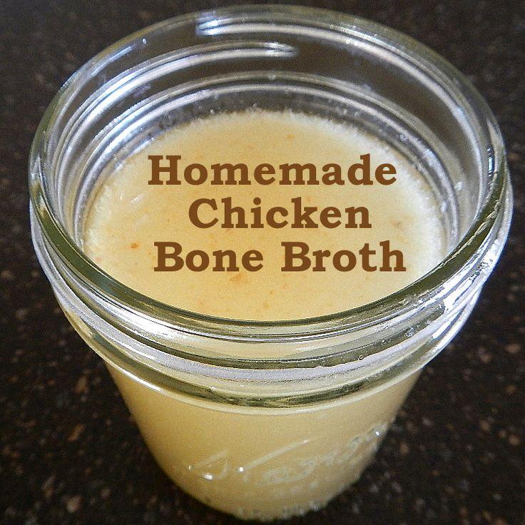 How to make healthy homemade chicken bone broth. Montana Homesteader