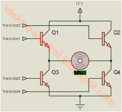 Elektro-Kontrol: DRIVER MOTOR DC MENGGUNAKAN IC L293D