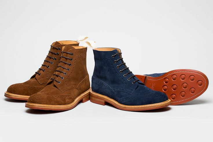 Norse Projects x Tricker's 6 Pack Collection.: Men'S Outfit, Men'S Shoes, Nor Projects, Men'S Styles, Men'S Fashion, Men'S Footwear, Norse Projects, 6 Packs, Brogues Boots