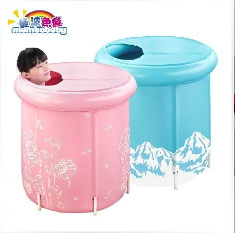 free shipping inflatable bath bucket spa tub baby swimming pool adult bathtub more likes i. Black Bedroom Furniture Sets. Home Design Ideas
