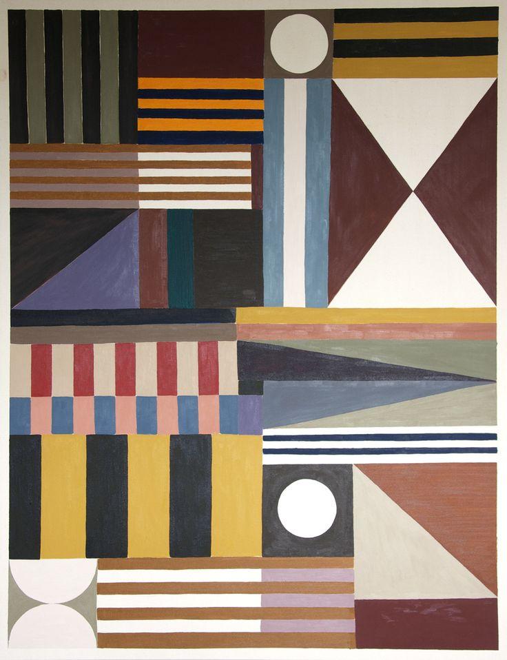 """Tuukka Tammisaari, """"Isot palikat"""", oil on canvas, 220x170cm"""