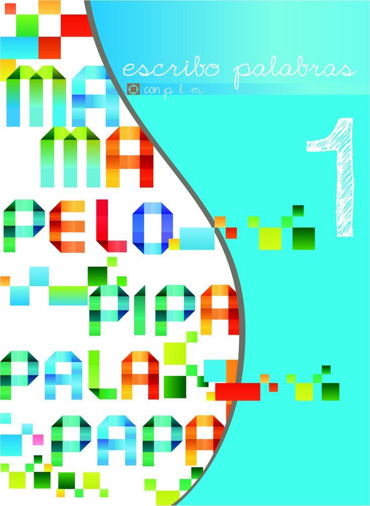 """Diseño portada cuadernillo """"escribo palabras"""" para la Fundación Integra Vigo #idecomunicacion #design #Vigo"""
