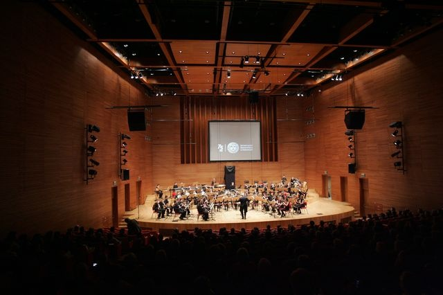 Ceremonial Concert of Academic Brass Orchestra of Academy of Music in Katowice