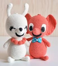 Littlephant - Crocheted Melody Soft Toys  Designer handbag manufacturer www.parikas.com