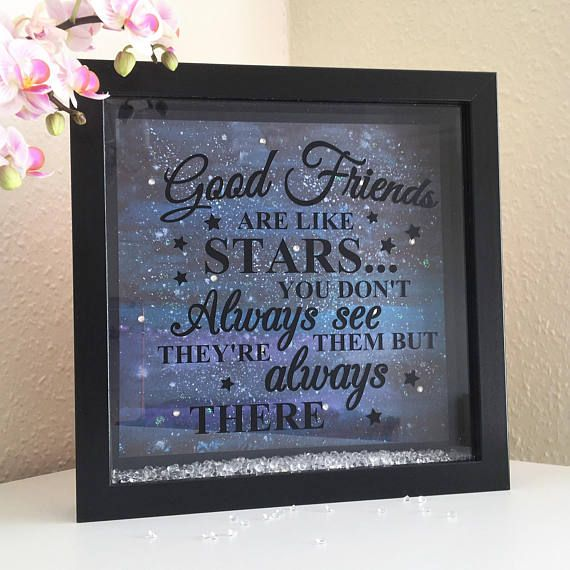 Gift for a good friend birthday or thank you Picture Box - here is where you can find that Perfect Gift for Friends and Family Members
