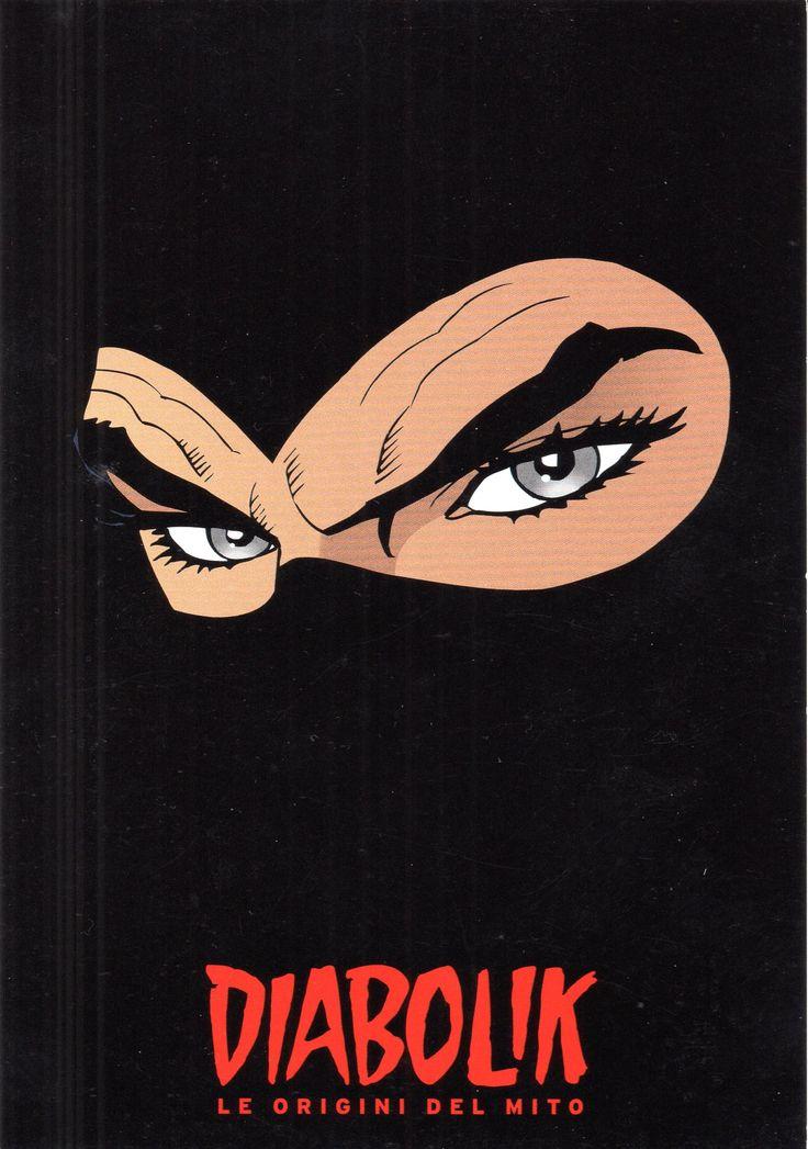 """PROMOCARD n. 7856 2008 - """"Diabolik le origini del mito"""""""