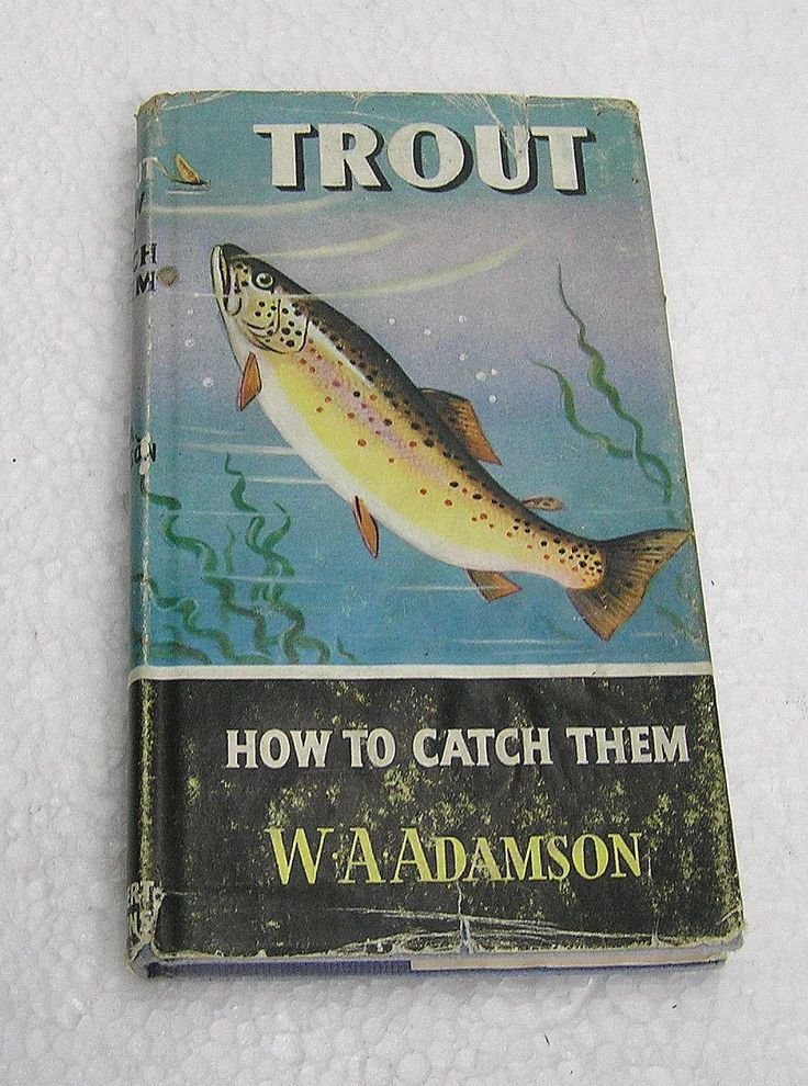 Trout : How to Catch Them - W.A.Adamson 1967 by LakeDistrictEphemera on Etsy