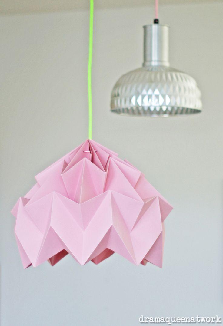 81 besten lampenschirme falten bilder auf pinterest deko ideen kronleuchter und bastelei. Black Bedroom Furniture Sets. Home Design Ideas