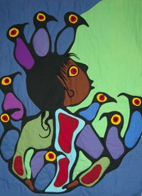 By Norval Morrisseau.