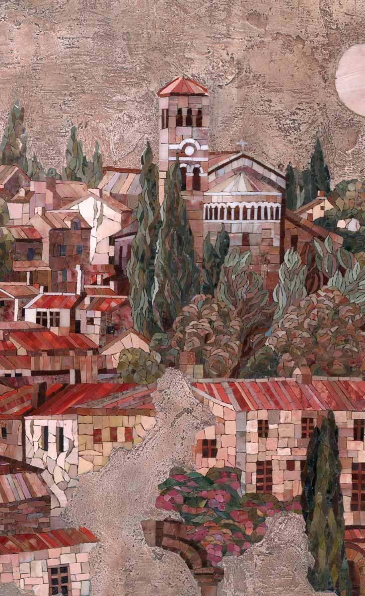 Мозаичная композиция Флоренция