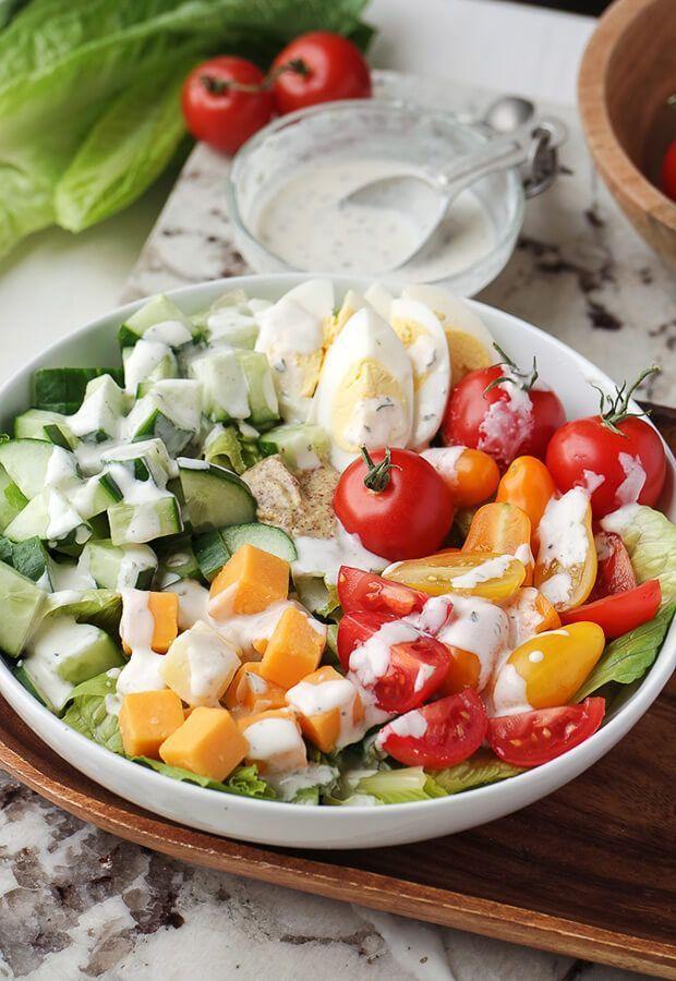 Vegetarian Keto Club Salad Ruled Me Recipe Vegetarian Recipes Healthy Vegetarian Keto Vegetarian