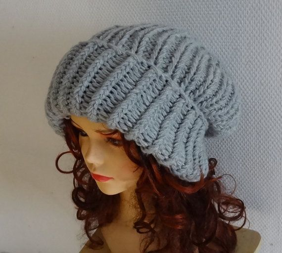 Super Slouchy Beanie Big Slouch Baggy Hat Winter Adult by Ifonka, $35.00