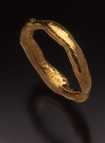 """Jana Brevick, """"The Everchanging Ring 1"""" Teaching at Penland July 8-20, 2012."""