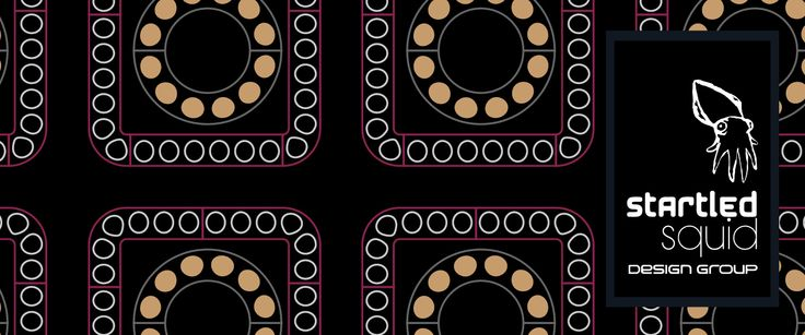 Abstract pattern by Startled Squid Design Group