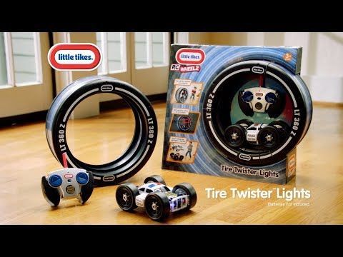 Light up the action with the new Little Tikes Tire Twister Lights! Your tike will be thrilled to race this police car with real lights and sounds!