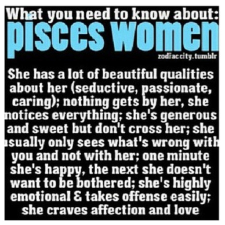 Issue A Pisces In Love Characteristics Of Woman haven