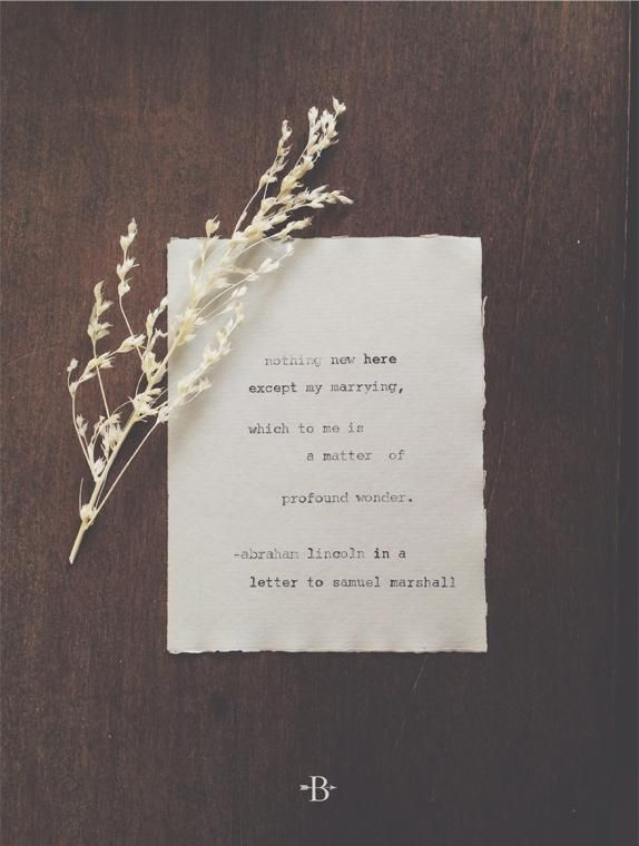 "simple quote for ""invitation,"" super-simple paper layout. lily of the valley here too."