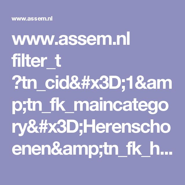 www.assem.nl filter_t ?tn_cid=1&tn_fk_maincategory=Herenschoenen&tn_fk_highlights=SALE&tn_ps=36&tn_p=1