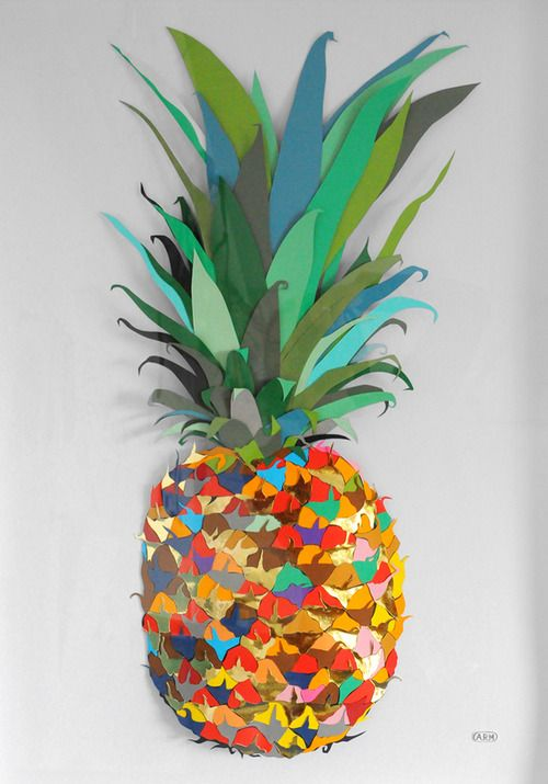 Colour Paper Pineapple - Andy MacGregor