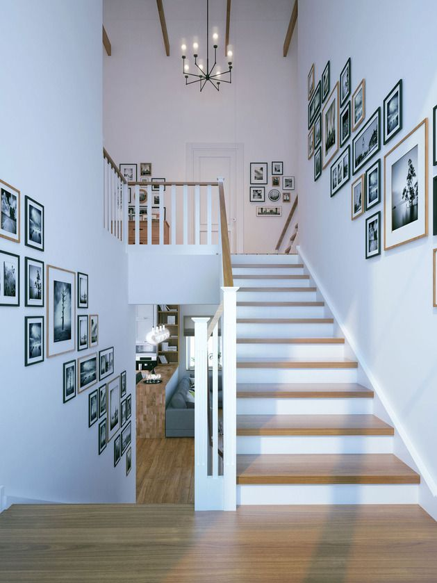 Schwarz-Weiß-Foto-Dekoration geht voll in die Kehle