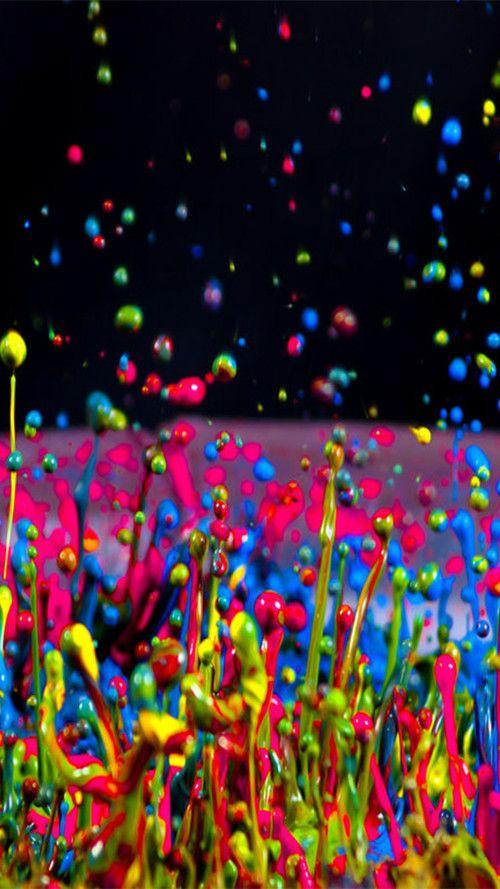 Water Color Splash iPhone Wallpaper iPhone Wallpaper