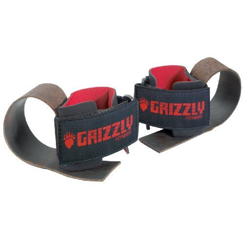 Grizzly Fitness Deluxe Leather Lifting Straps -- To view further for this item, visit the image link.