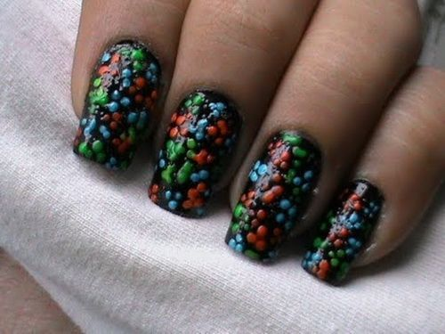 80 best images about easy nails on pinterest nail art designs tutorial nails and polish - Easy nail designs to do at home ...