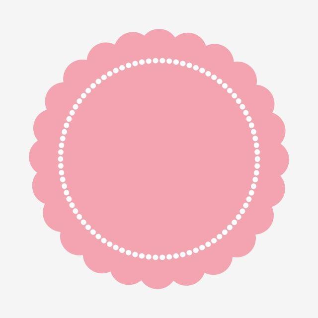 Pink Lovely Frame Clipart Png Element Pink Circle Frame Pink Frame Png And Vector With Transparent Background For Free Download Pink Frames Frame Logo Frame Clipart