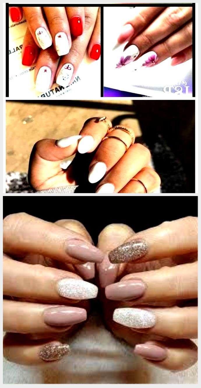 Acrylic Nails French Tip Ring Finger There Are Three Basic Types Of Artificial Nails In 2020 Artificial Nails French Nails Nails