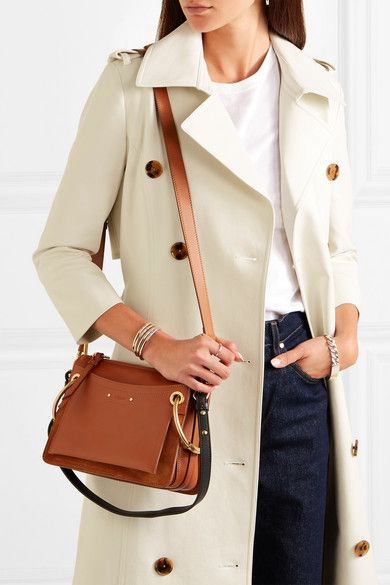 e18337581a Chloé - Roy small leather and suede shoulder bag | purse for mom ...