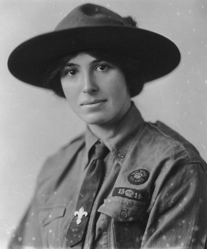 Olave St Clair Baden-Powell (née Soames), Lady Baden-Powell, by ...