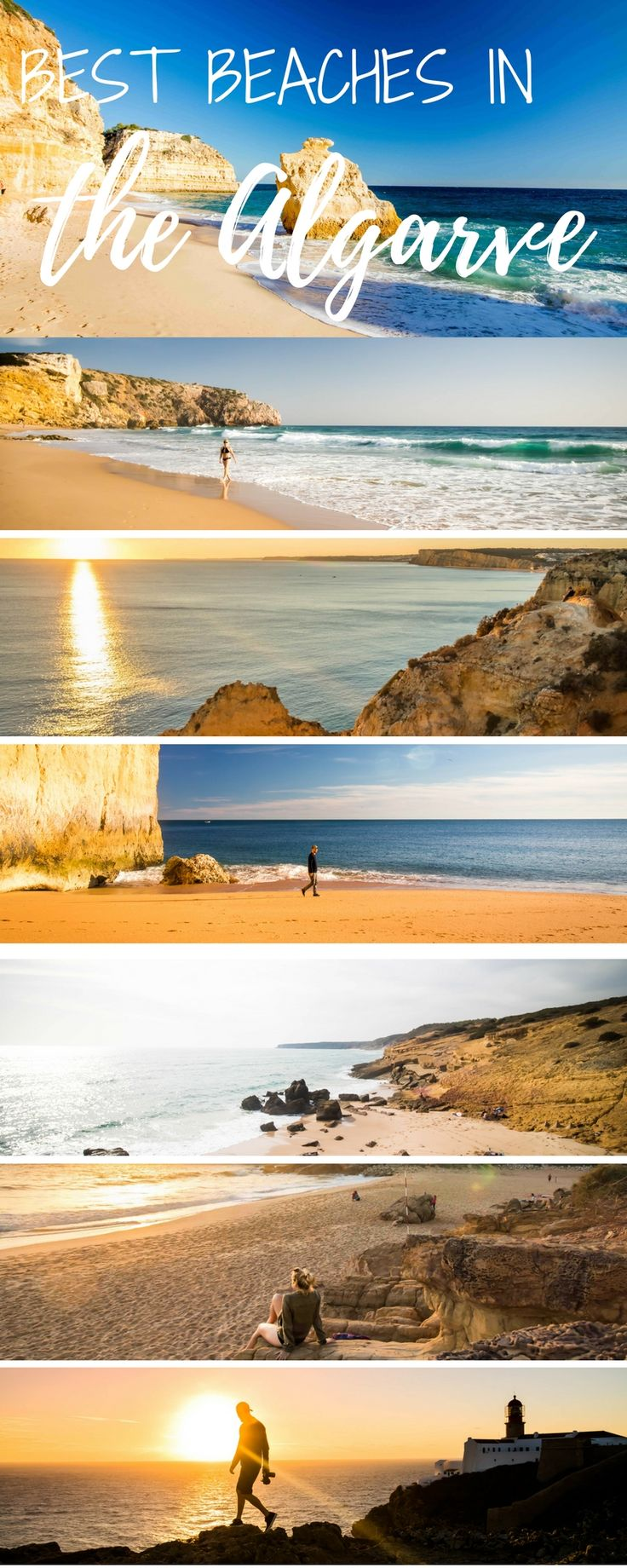 Going to Portugal and spending some time in the Algarve? Here are the top beaches around Lagos. Including surf spots and a few things to do in this lovely European country!