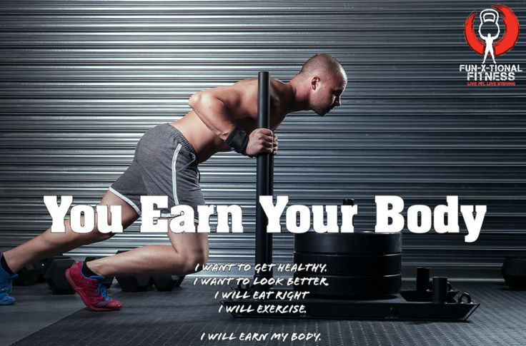 You get nothing without putting in some effort, invest in yourself, work hard, be dedicated and earn your BODY!!