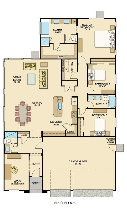 39 Best Lennar Floorplans Single Story Images On