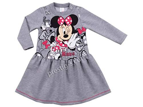 Baby M/ädchen T-Shirts Tops Minnie Mouse Langarm 100/% Baumwolle Rosa