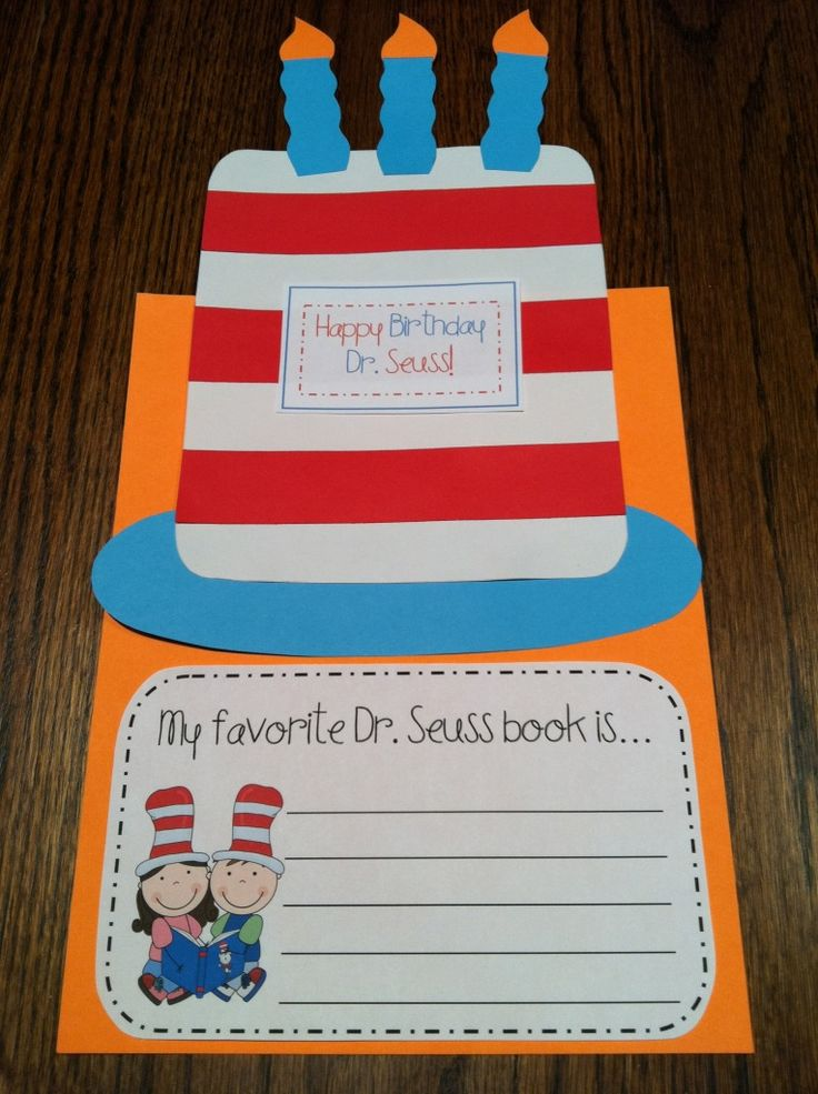 Dr. Seuss' birthday cake - Re-pinned by @PediaStaff – Please Visit http://ht.ly/63sNt for all our pediatric therapy pins