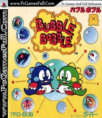 Bubble Bobble Game Free Download Full Version For Pc is an arcade comical action platformer video game by Taito, first released in 1986 and later ported to numerous home computers and game consoles. Bubble Bobble colorful cast of characters and pickups, as well as its chain reaction bubble bursting gameplay, provides a charming, very well aged experience.