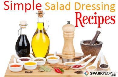 Healthy Homemade Salad Dressings via @SparkPeople