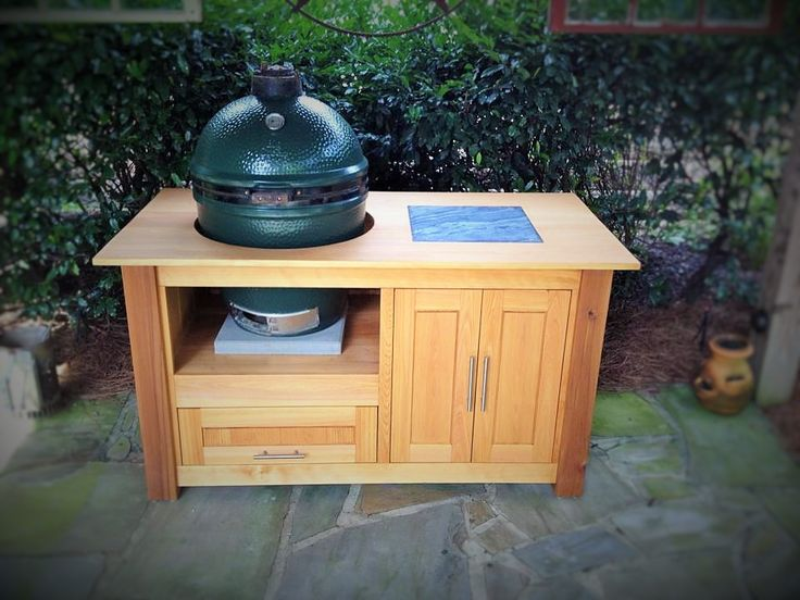 17 Best Images About Custom Big Green Egg Tables On
