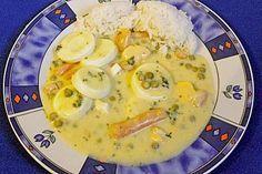 Schnelles Eierfrikassee, ein sehr schönes Rezept aus der Kategorie Kochen. Bewertungen: 50. Durchschnitt: Ø 4,2.
