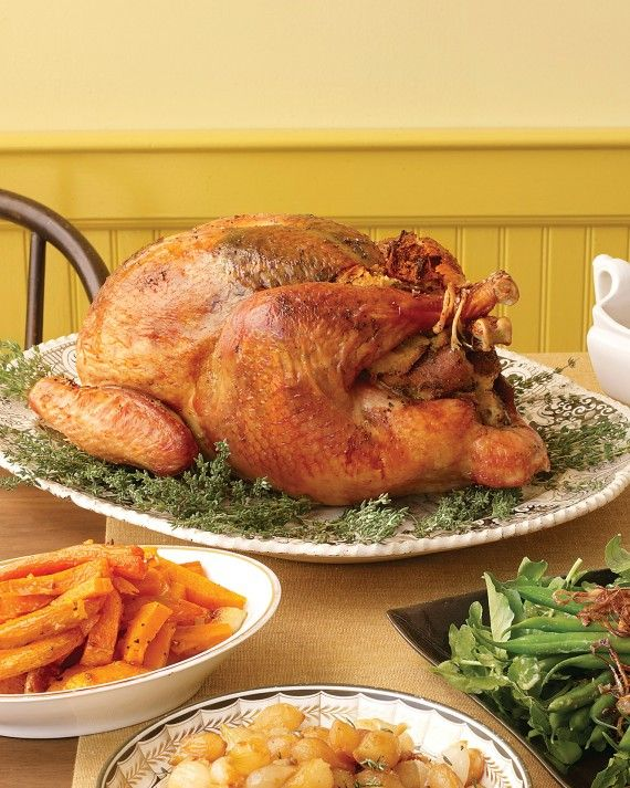 ... Herb-Rubbed Turkey side dishes Simple Stuffing White Wine Gravy