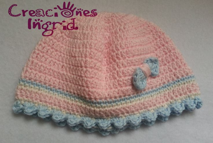 Gorro para Bebe / Baby Crochet Hat