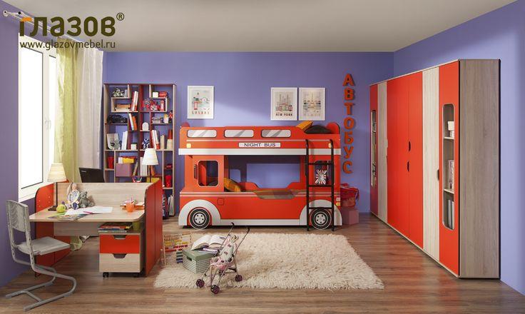 Мебель для детской Автобус - композиция 3